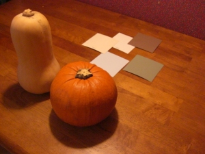 Squash and Pumpkin consider color schemes.