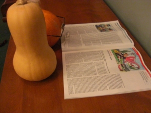 Squash and Pumpkin read The Economist.