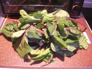 Bordeaux spinach
