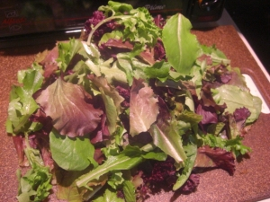 yummy mixed lettuce